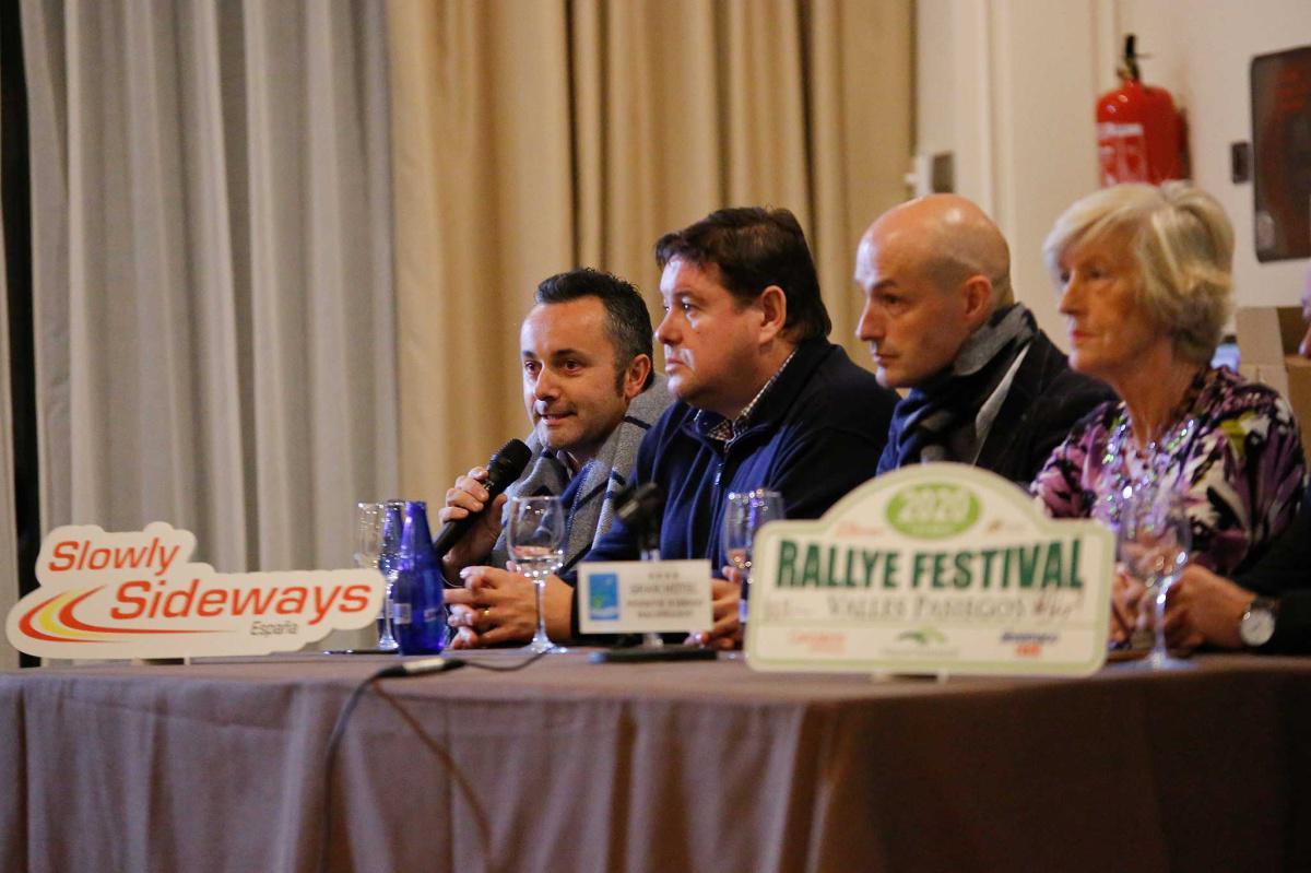Presentación Rallye Festival Valles Pasiegos