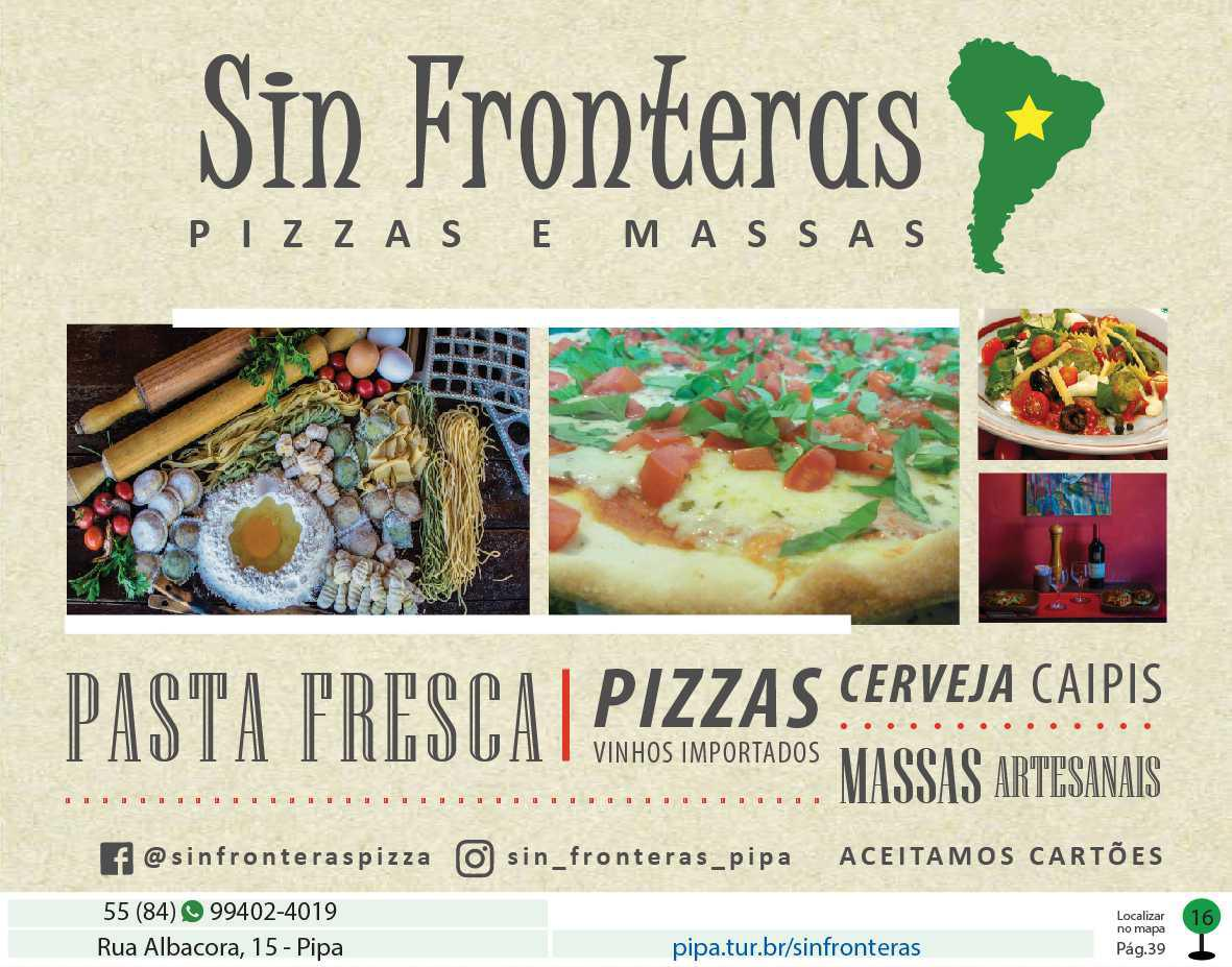 Sin Fronteras - Pizzas e Massas