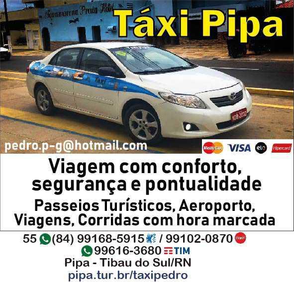 Táxi Pipa - Pedro