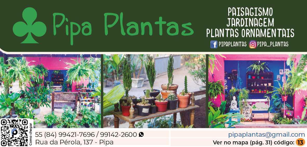 Pipa Plantas
