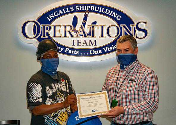 Doing the right thing earns Spot Award