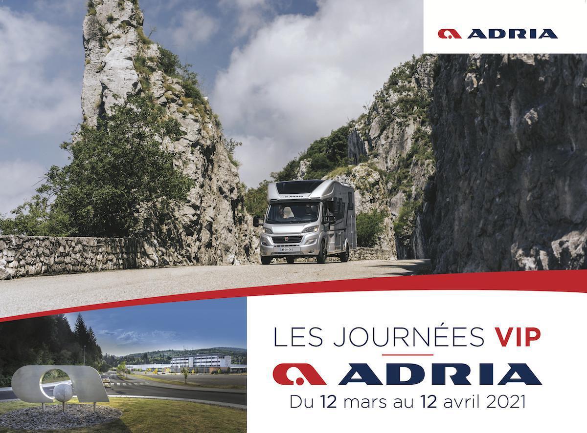 Les journées VIP Adria - partout en France