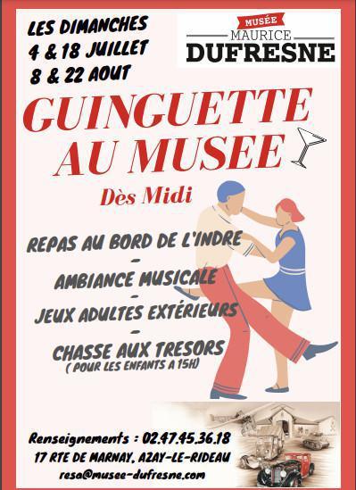 Guinguette au Musée Maurice Dufresne