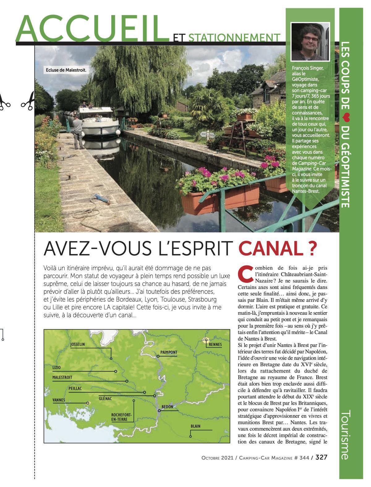 Canal de Nantes à Brest - CCM 344