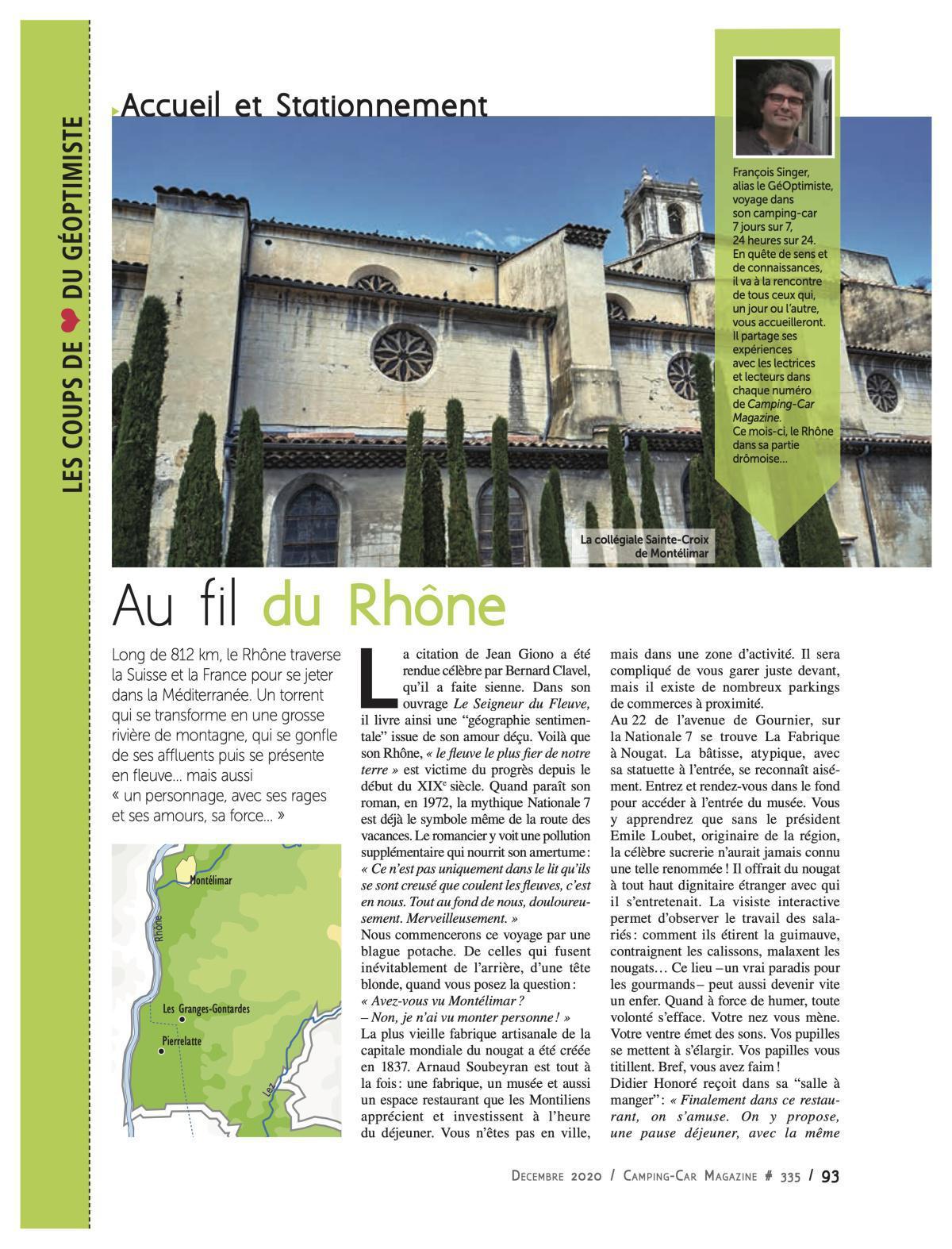 Au fil du Rhône - CCM 335
