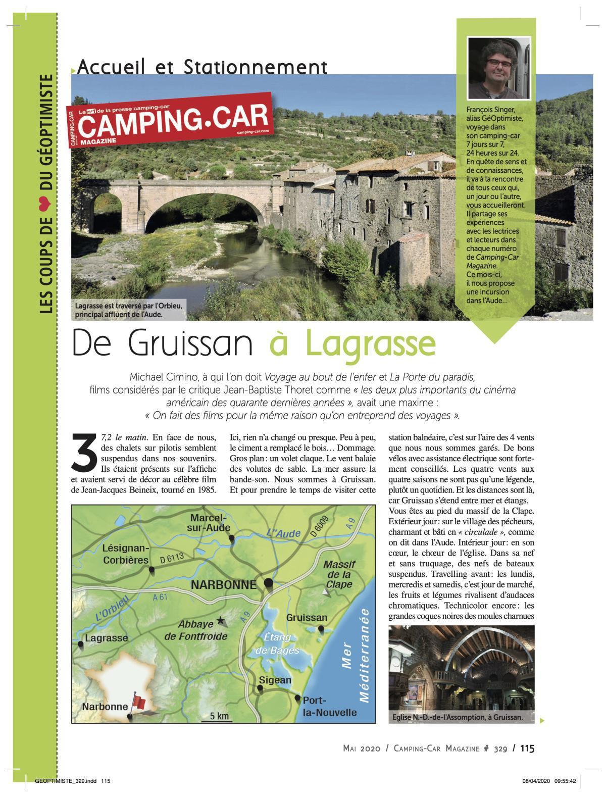De Gruissan à Lagrasse - CCM 329
