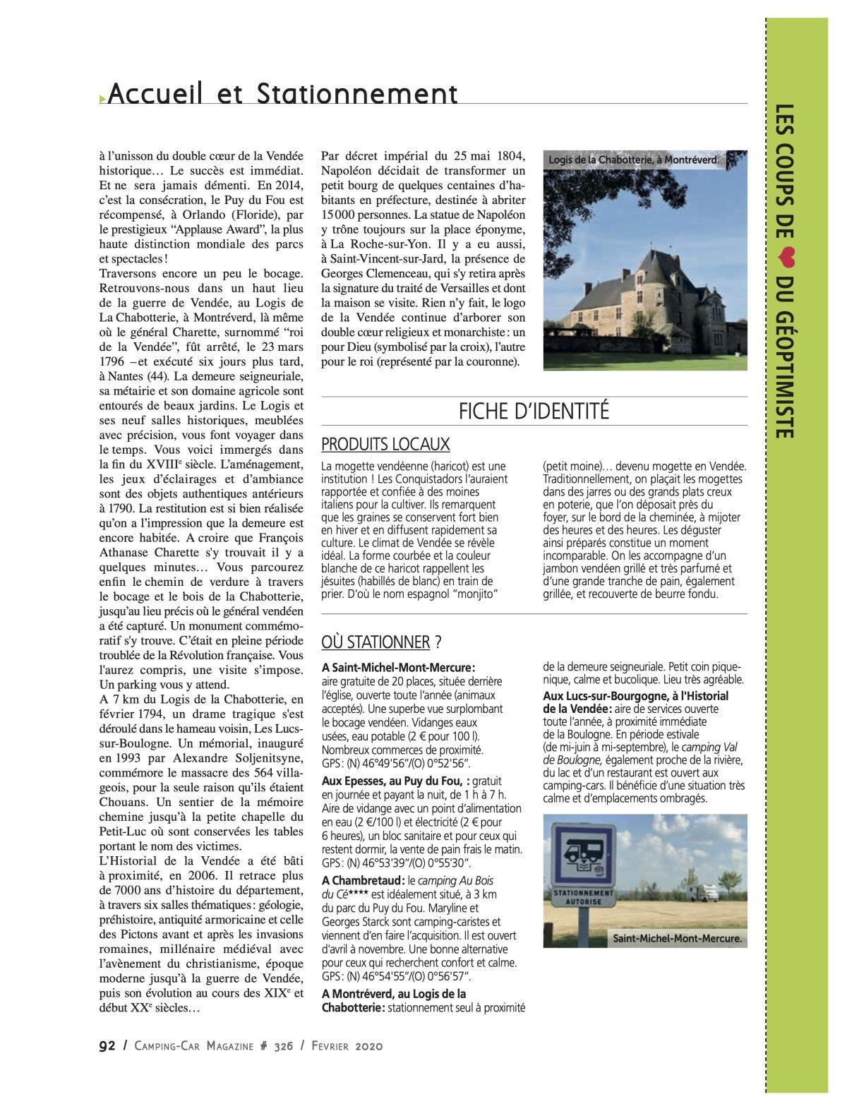 Le Nord Vendée - CCM 326