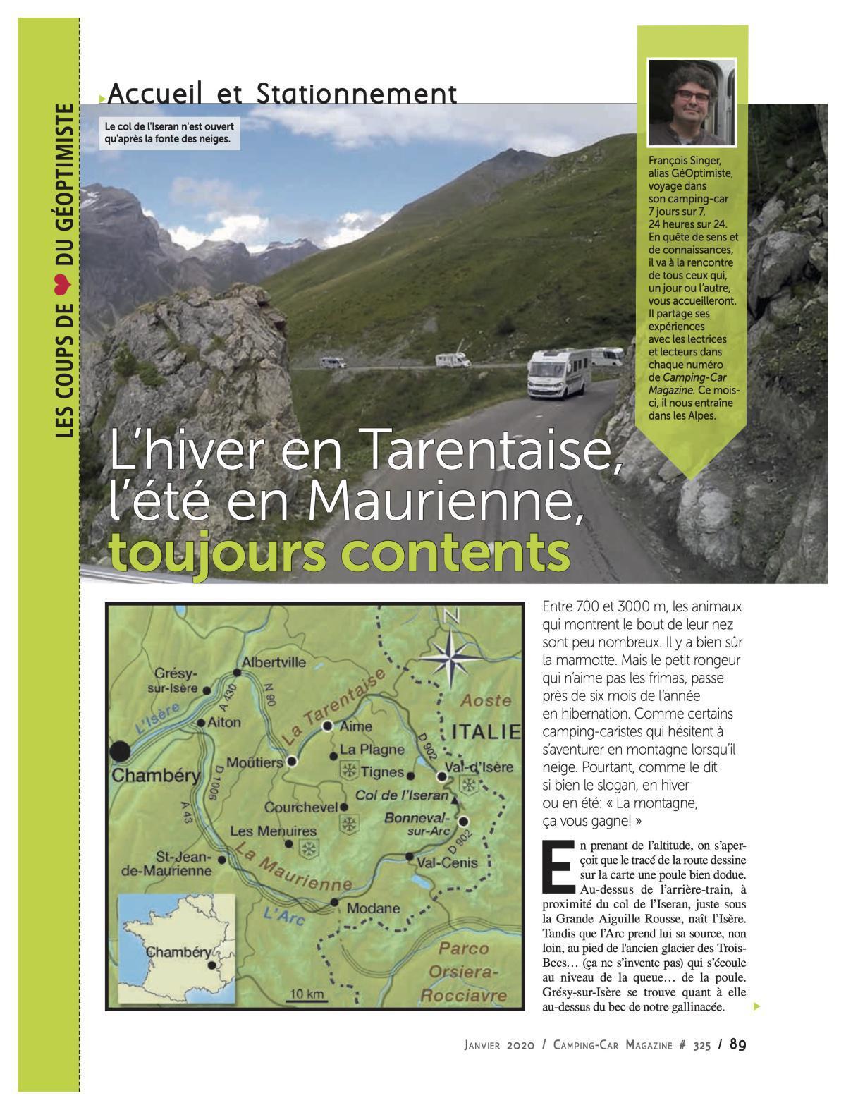 De la Tarentaise à la Maurienne - CCM 325