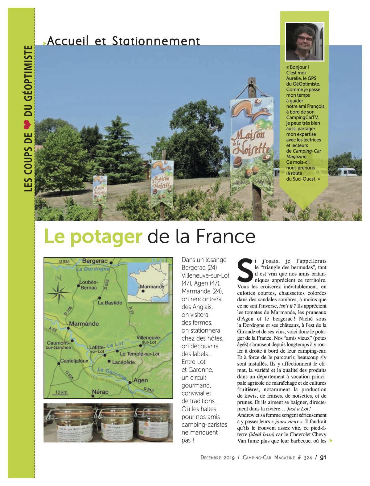 De la Dordogne au Lot - CCM 324