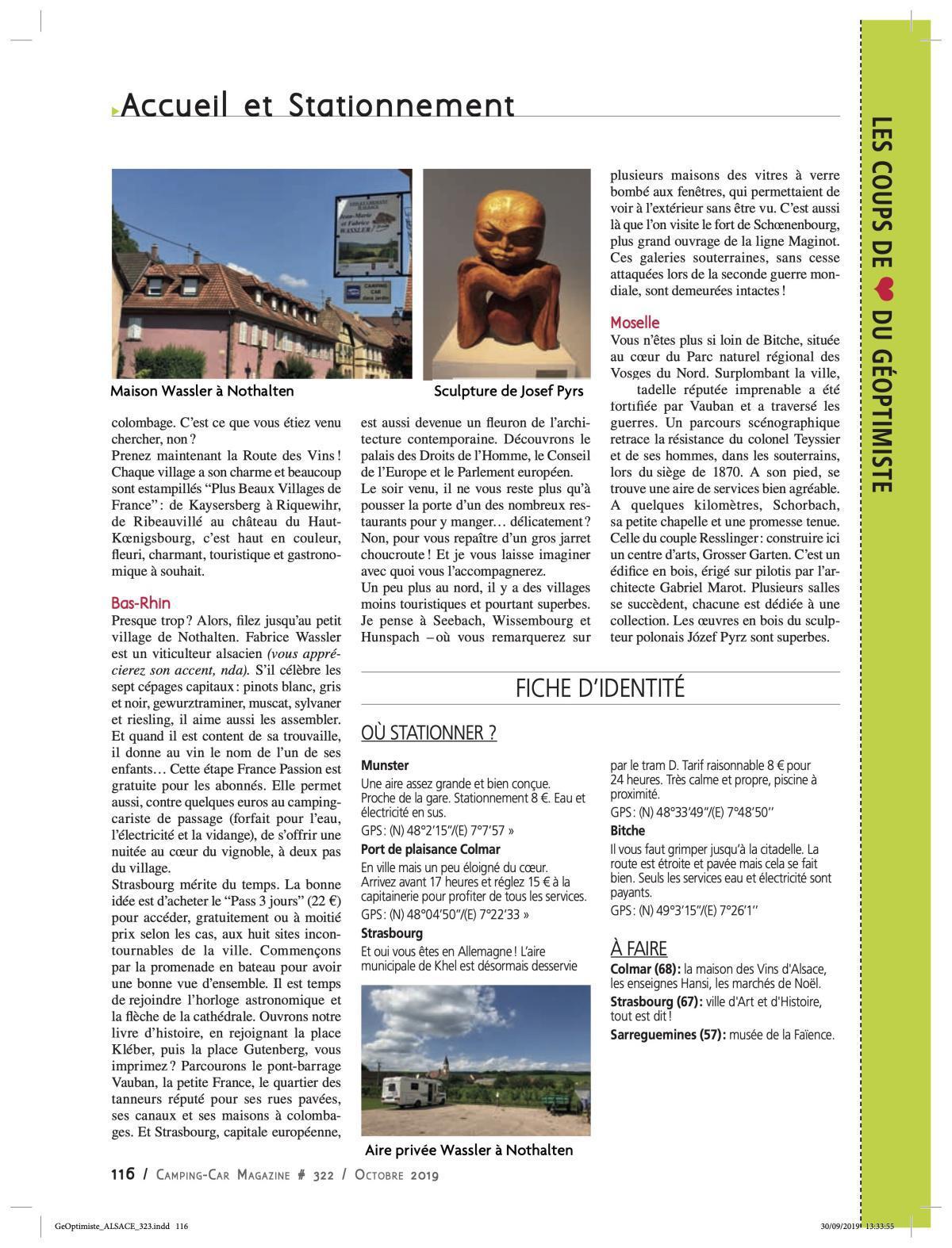 L'Alsace gourmande - CCM 323