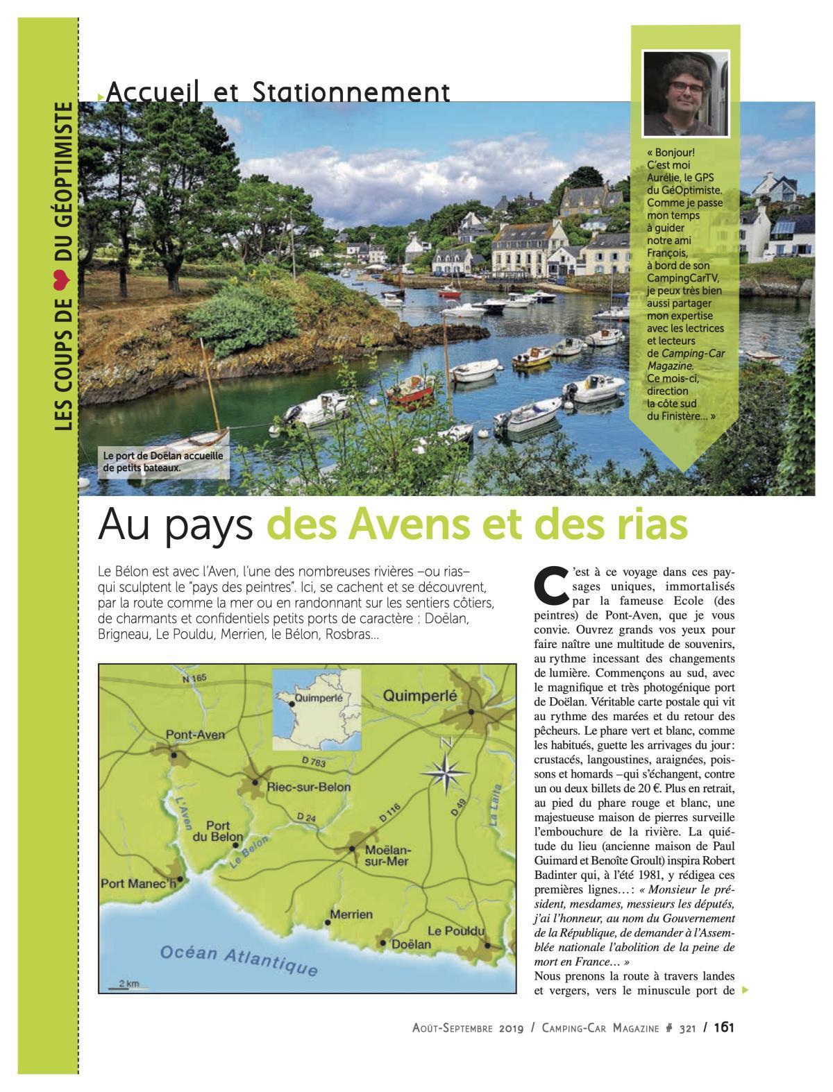 Pays de l'Aven - CCM 321