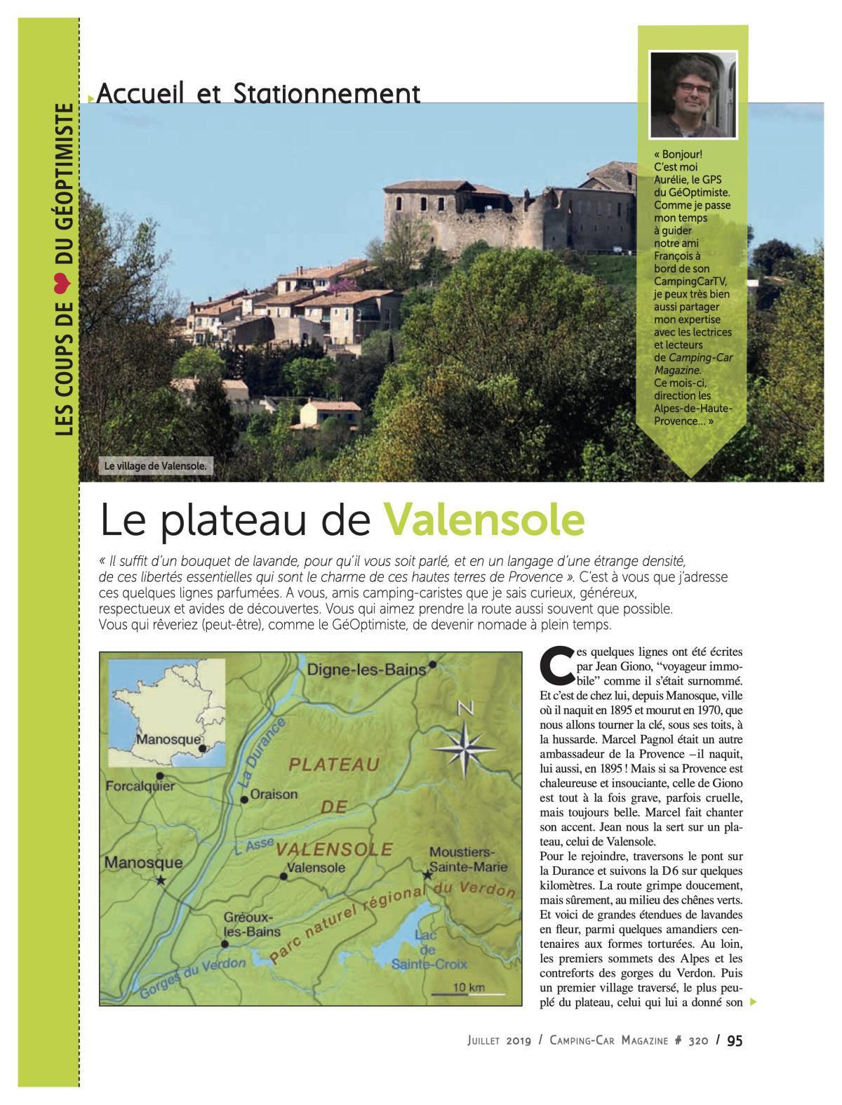 Valensole - CCM 320