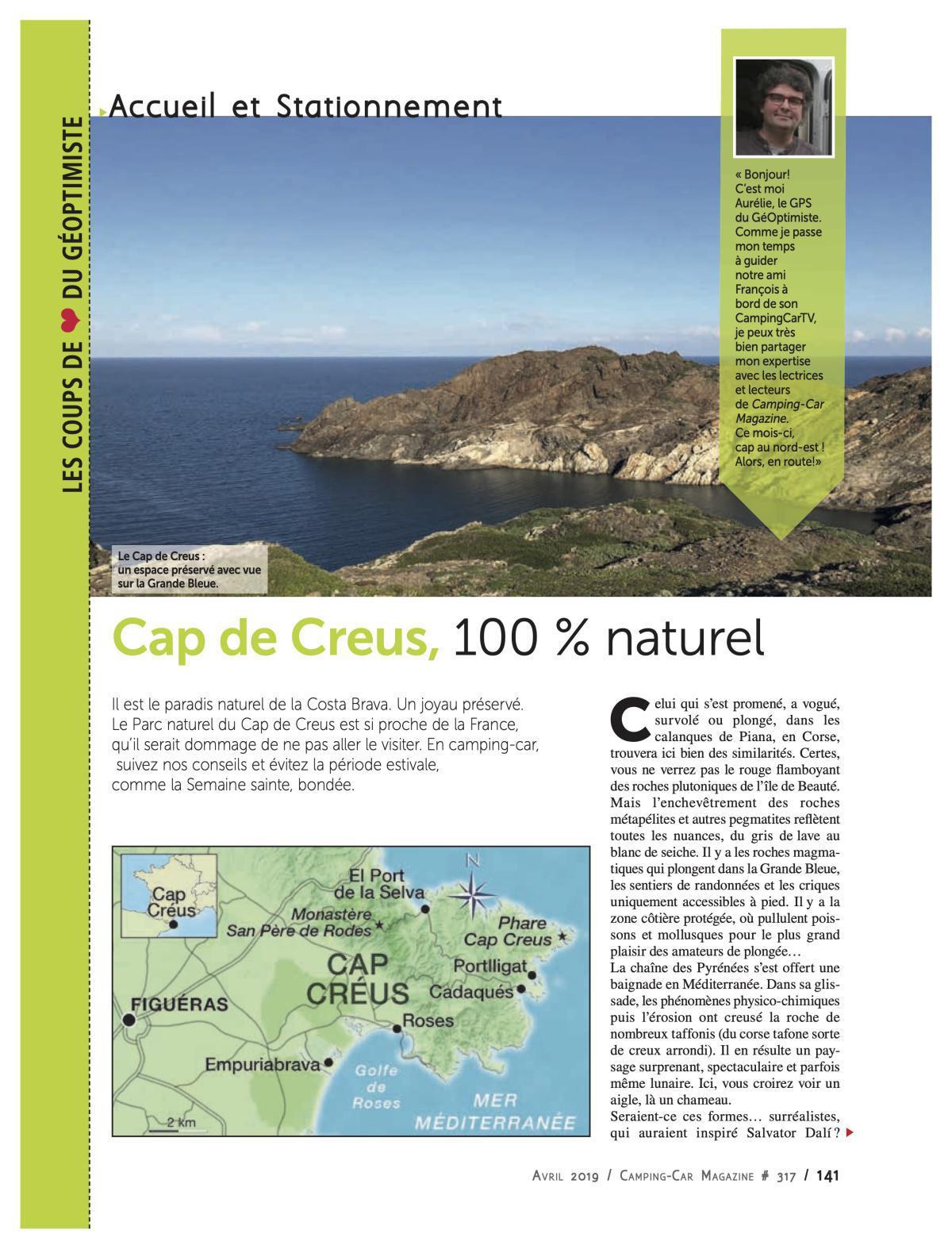 Cap de Creus - Costa Brava - CCM 317