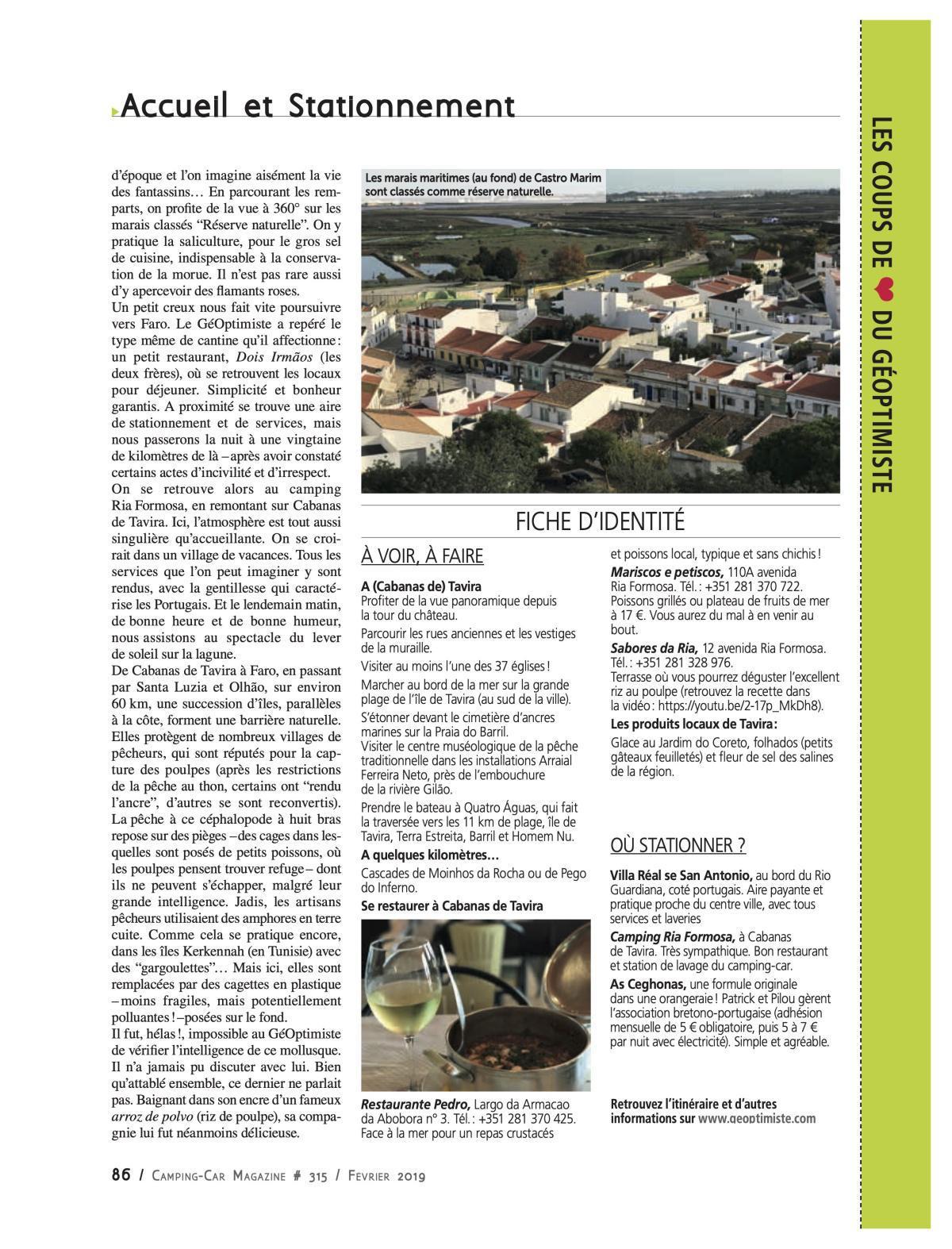 Tavira - Portugal - CCM 315
