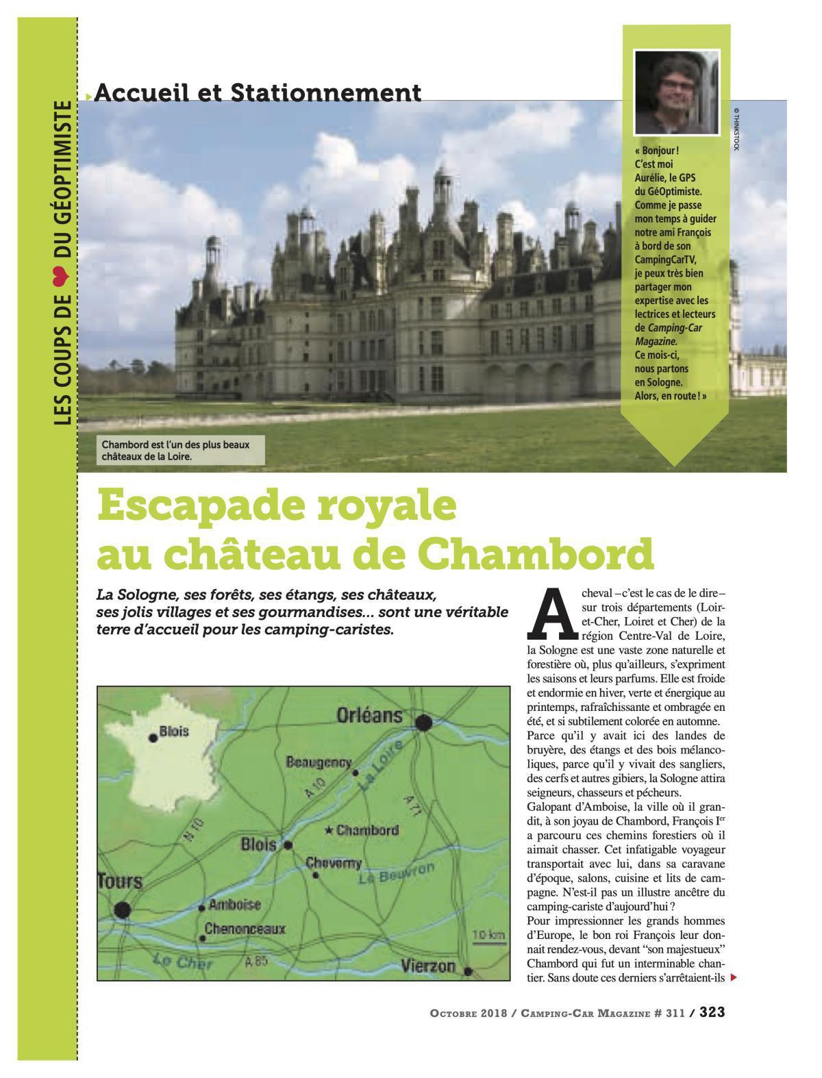 Château de Chambord - CCM 311