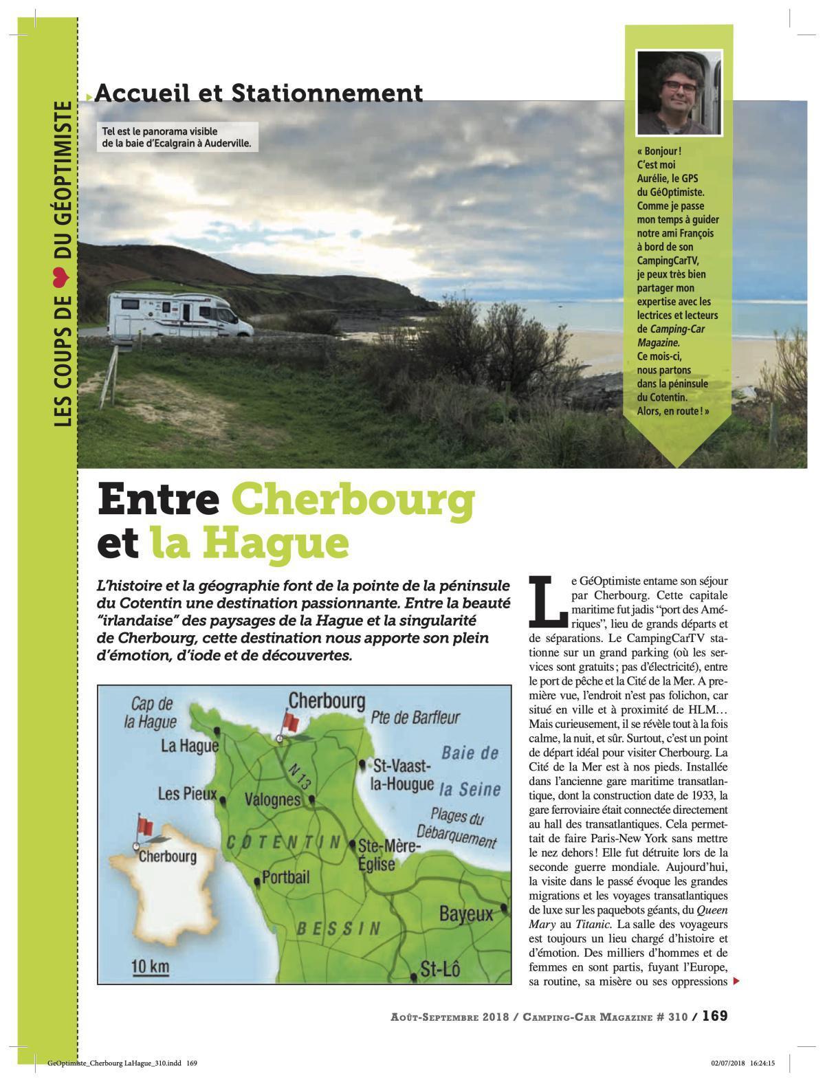 Entre Cherbourg et La Hague - CCM 310