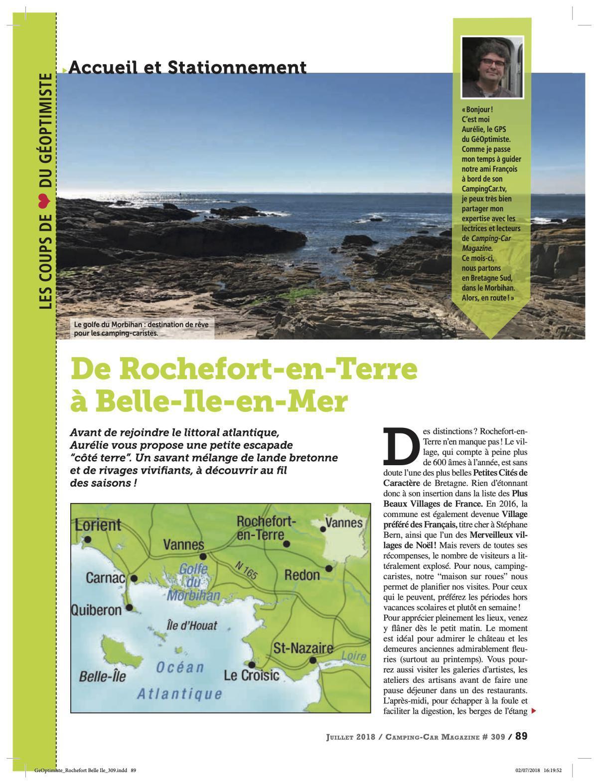Dans le Morbihan - CCM 309