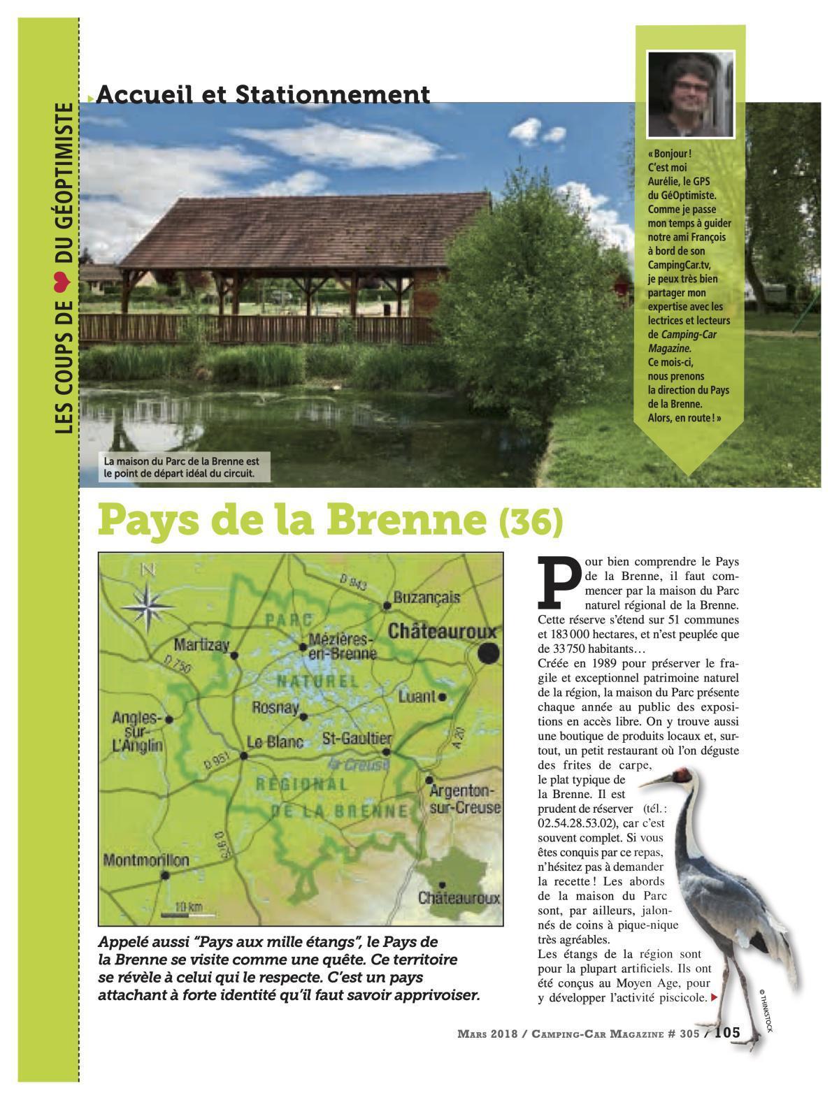 Pays de la Brenne - CCM 305