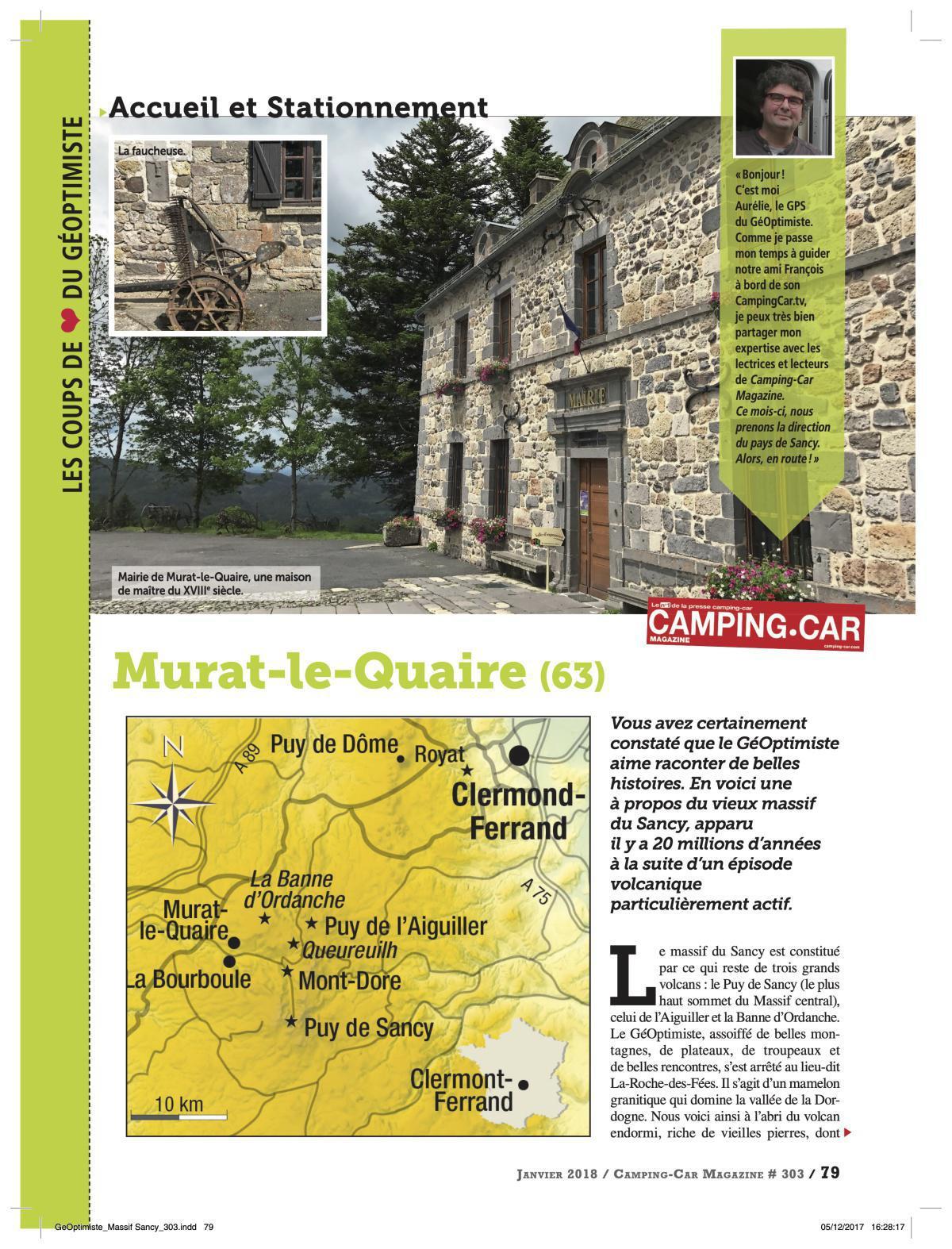 Autour de Murat-Le-Quaire - CCM 303