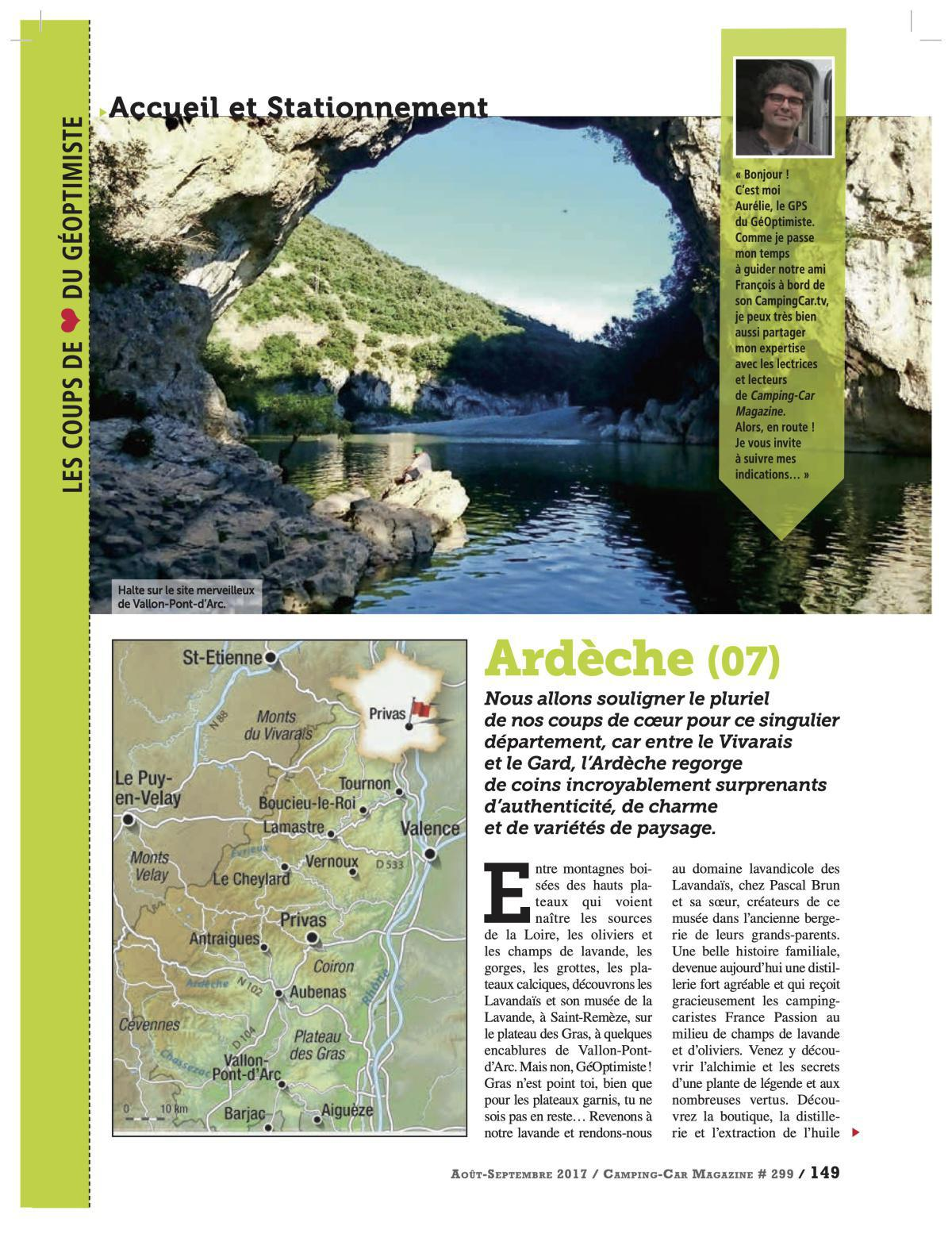 L'Ardèche - CCM 299
