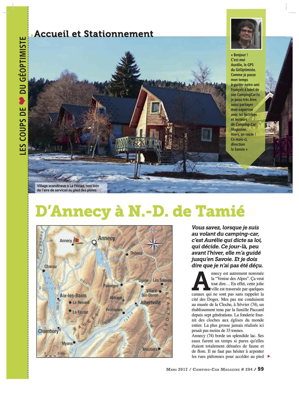 D'Annecy à N.D. de Tamié - CCM 294
