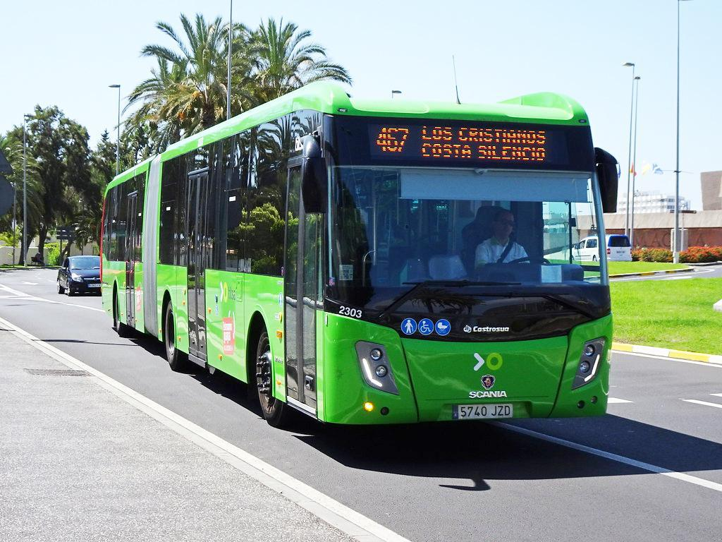 Alle buslijnen in Tenerife (klik om verder te gaan)
