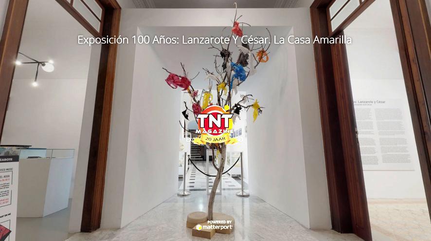 Exposición 100 años: Lanzarote y César. La Casa Amarilla