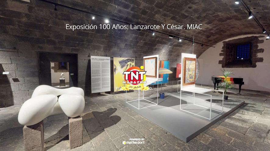 Exposición 100 años: Lanzarote y César. MIAC