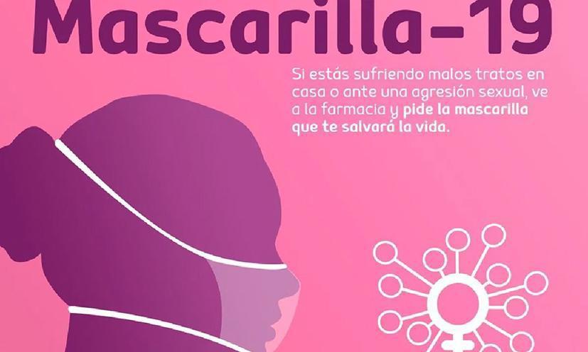 De 'Mascarilla-19'-campagne tegen gendergeweld bereikt bijna 200.000 mensen