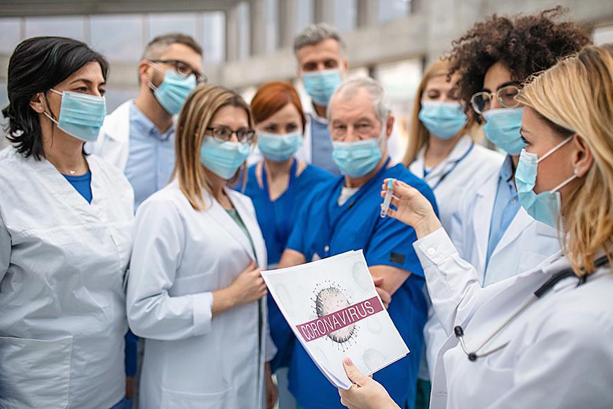20% van de geïnfecteerden op de eilanden werkt in de gezondheidszorg