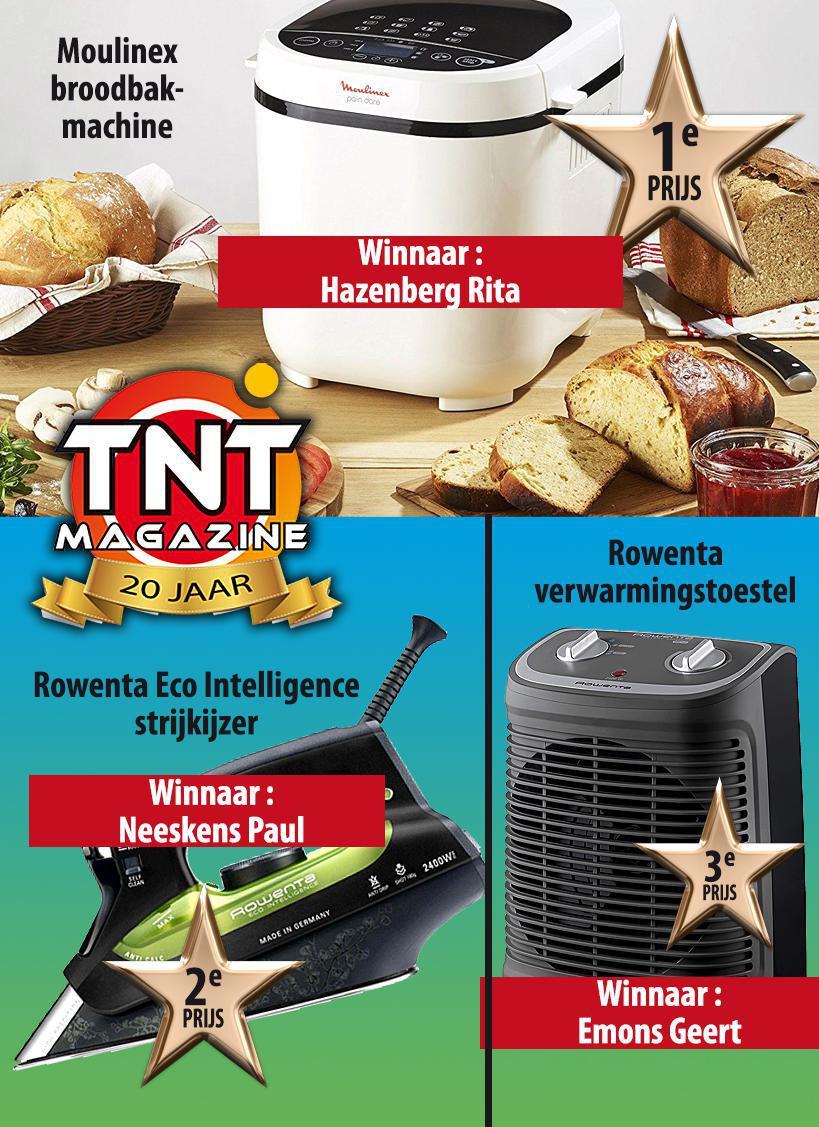 Winnaars prijsvraag N°12