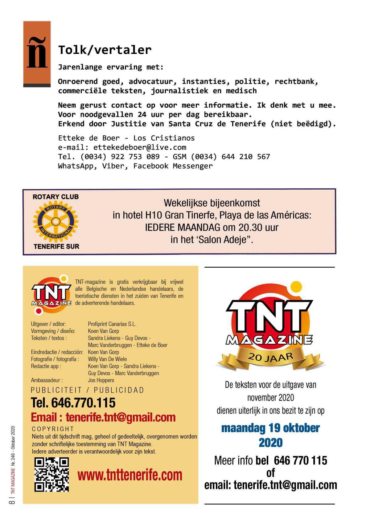 TNT Magazine - oktober 2020 - digitale versie