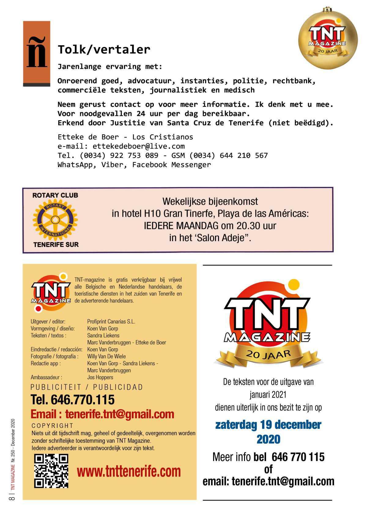 TNT Magazine - december 2020 - digitale versie