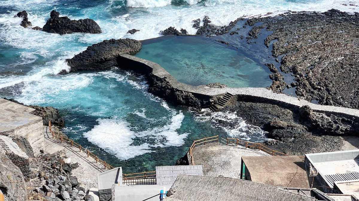 Getijdenpoelen op de Canarische Eilanden