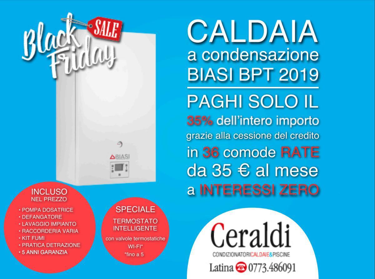 Black Friday - Caldai Biasi