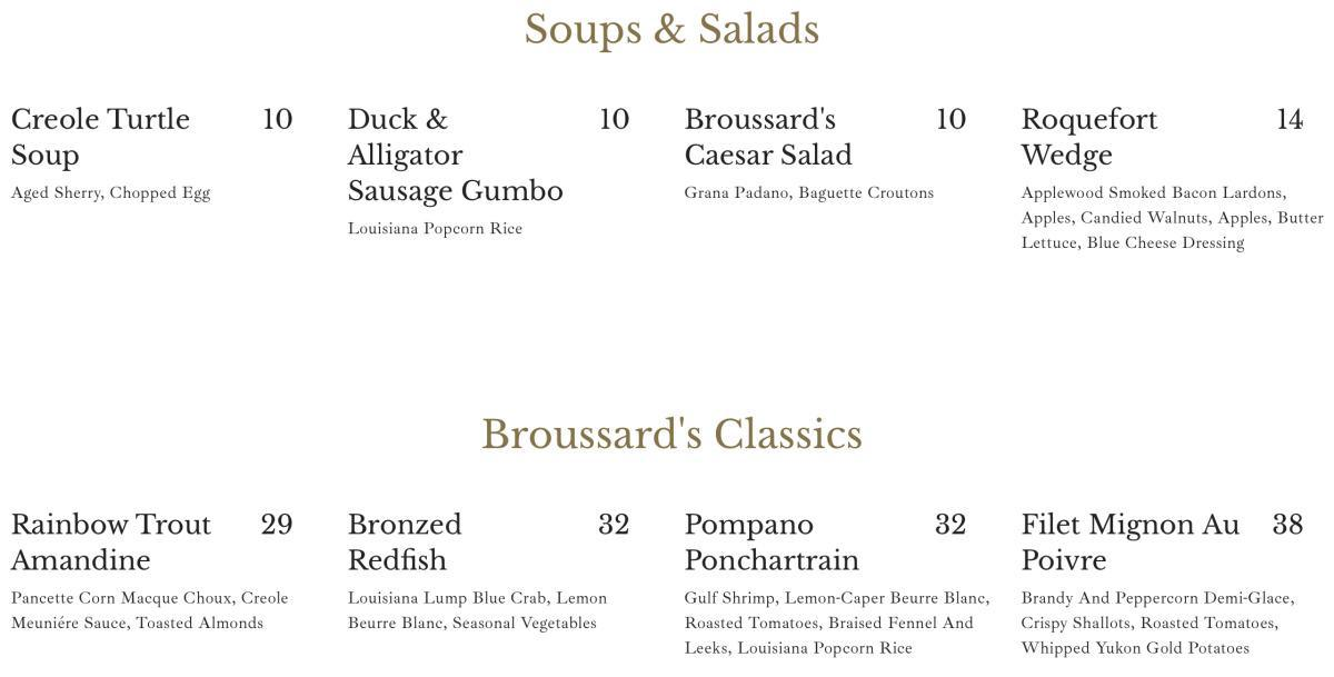 Broussard's