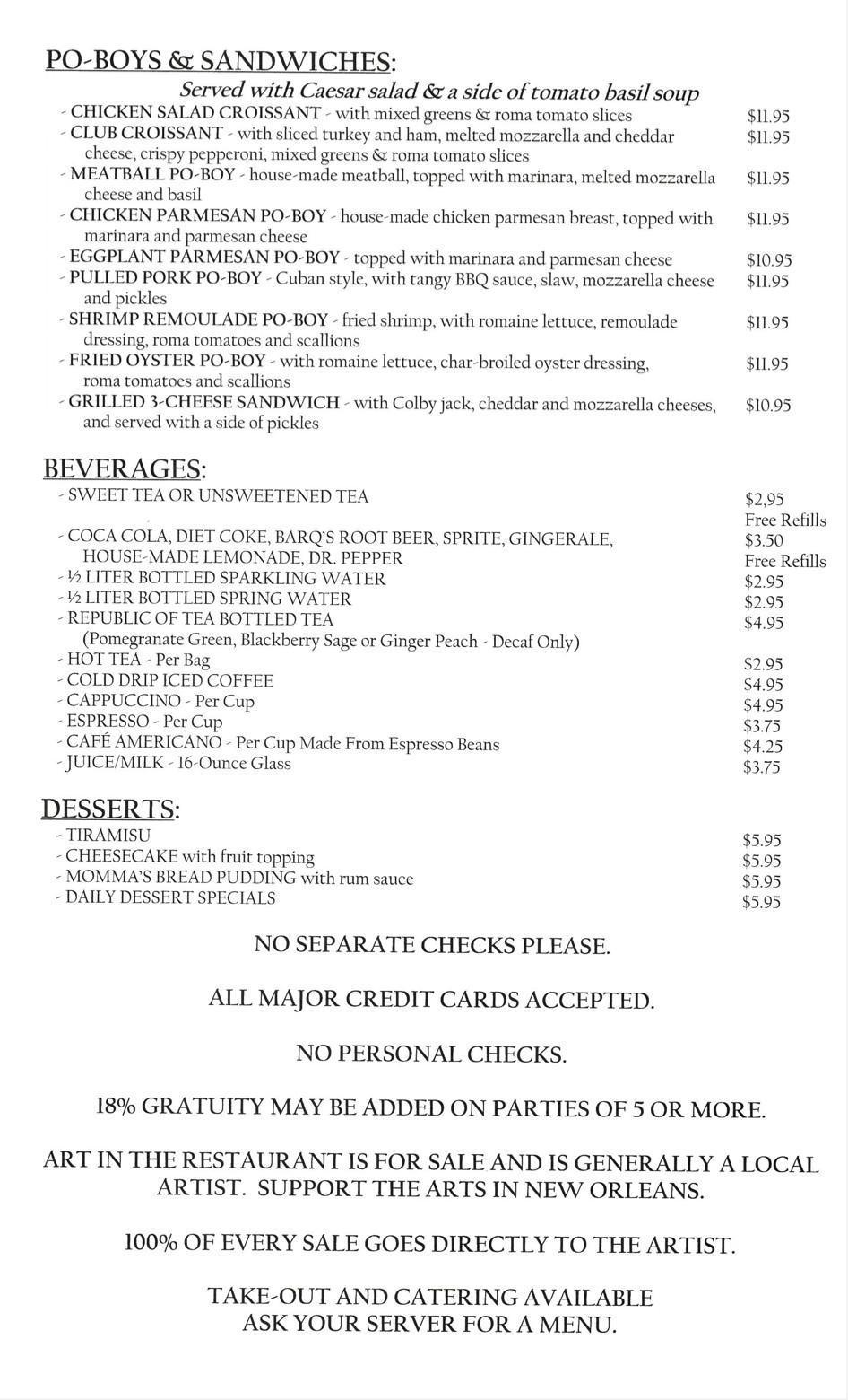 Louisiana Pizza Kitchen
