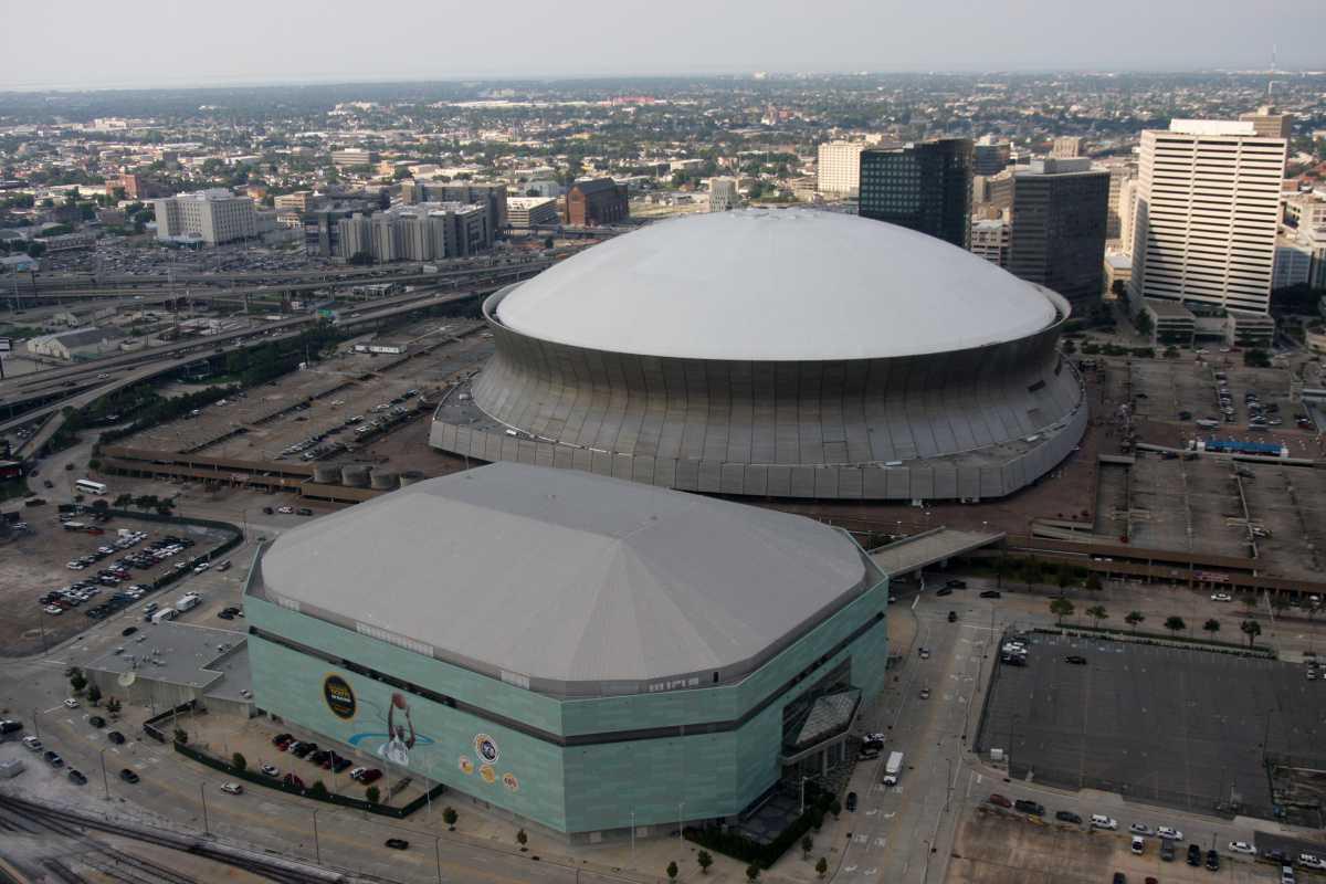 Mercedes-Benz Super Dome/New Orleans Saints