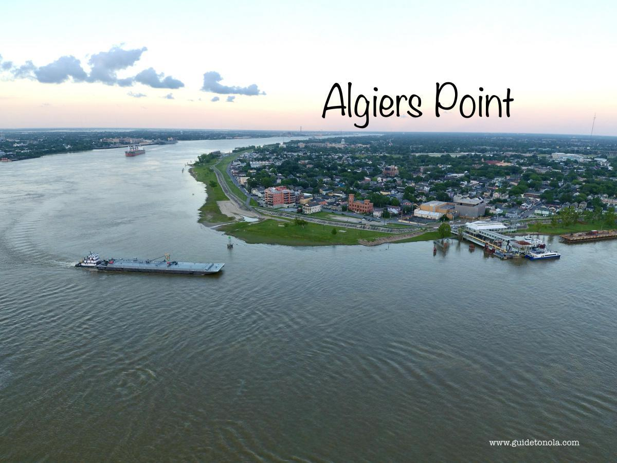 Canal Street Ferry to Algiers Point