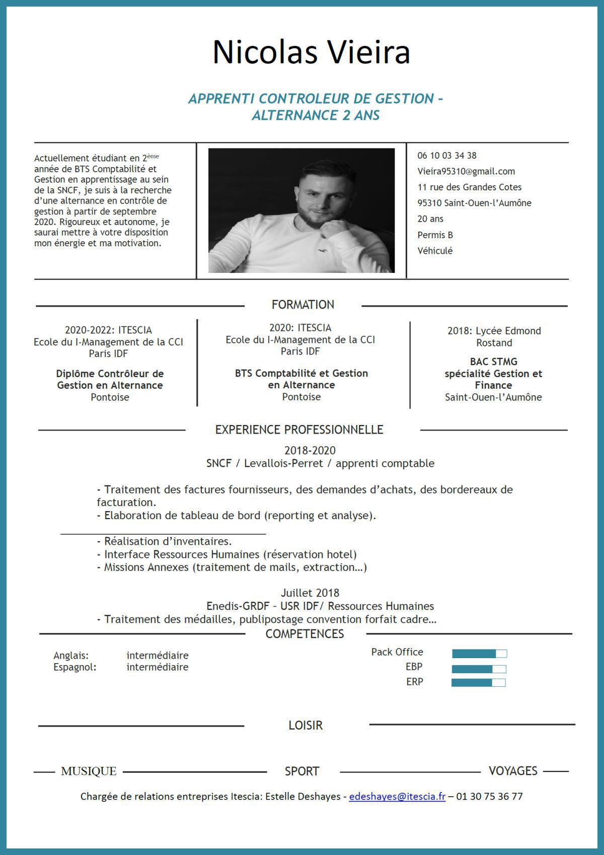 """Apprenti """"Contrôleur de gestion"""" recherche entreprise pour alternance sept 2020"""