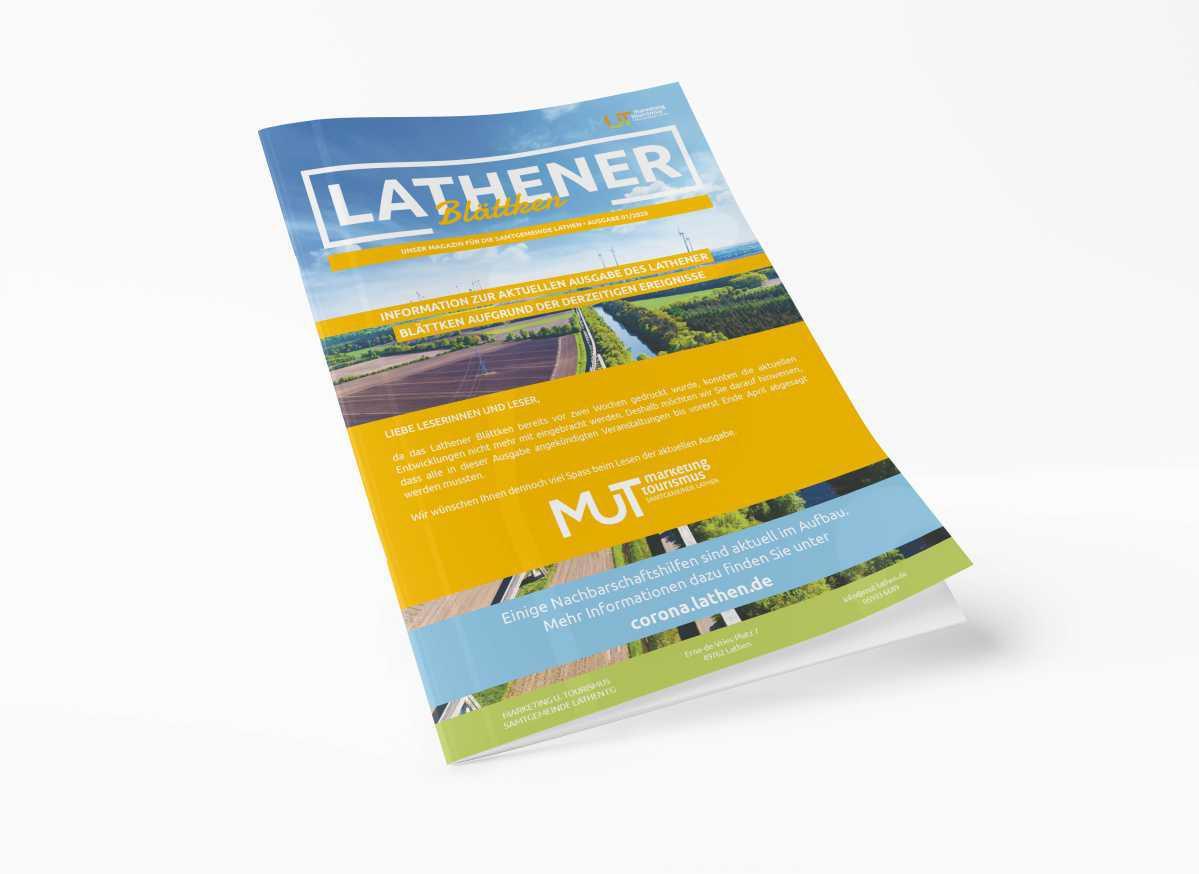 Sonderbeilage Lathener Blättken - Ausgabe 01/2020