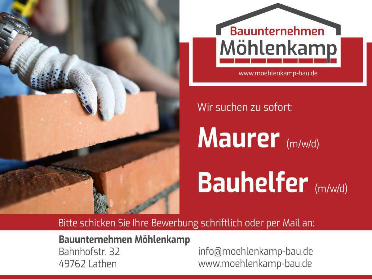 Bauhelfer m/w/d