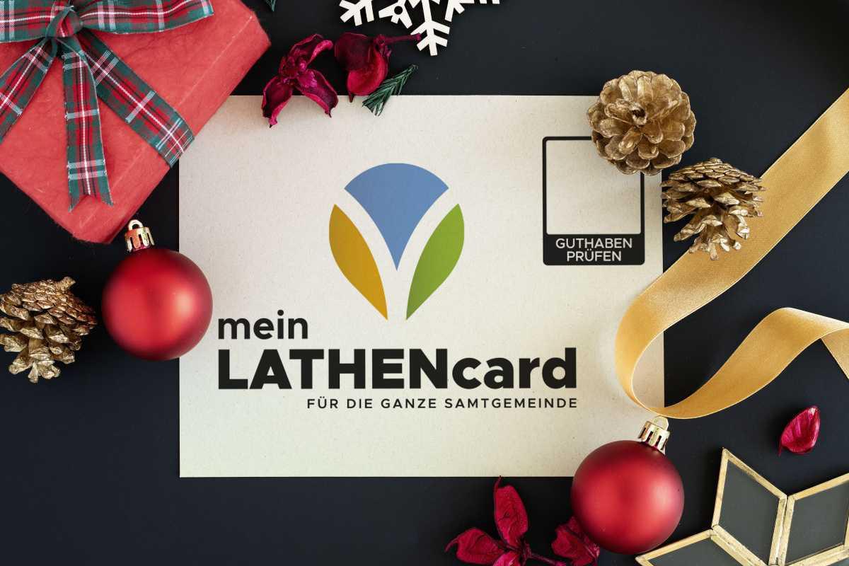 meinLATHENcard - DAS Weihnachtsgeschenk!
