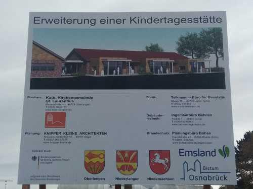 Erweiterung des Kindergartens in Ober-/Niederlangen