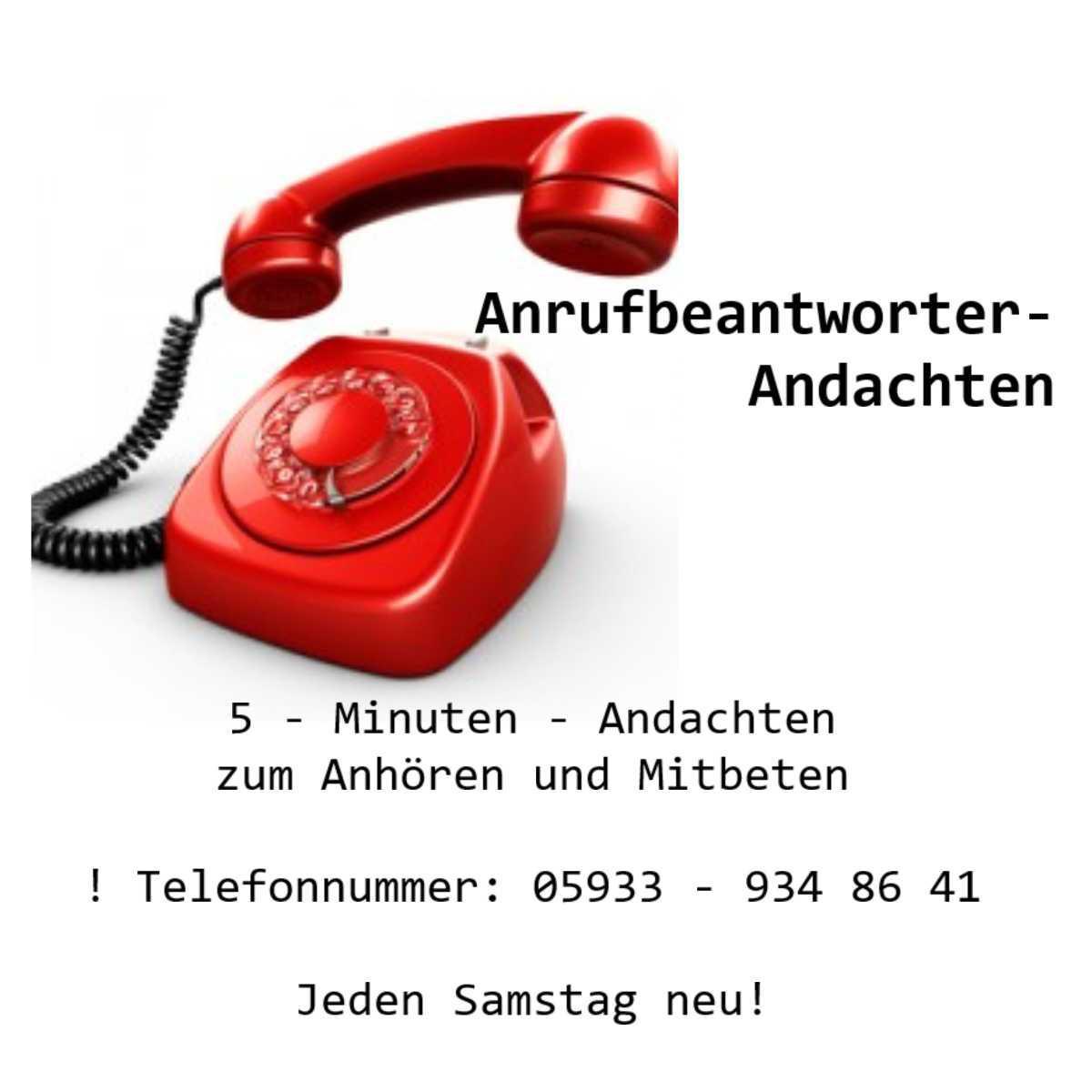 Anrufbeantworter Andachten