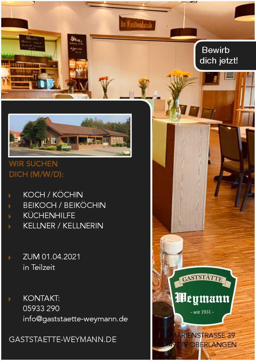 Koch / Köchin m/w/d
