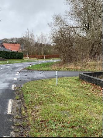 Neugestaltung der Bushaltestelle in Fresenburg