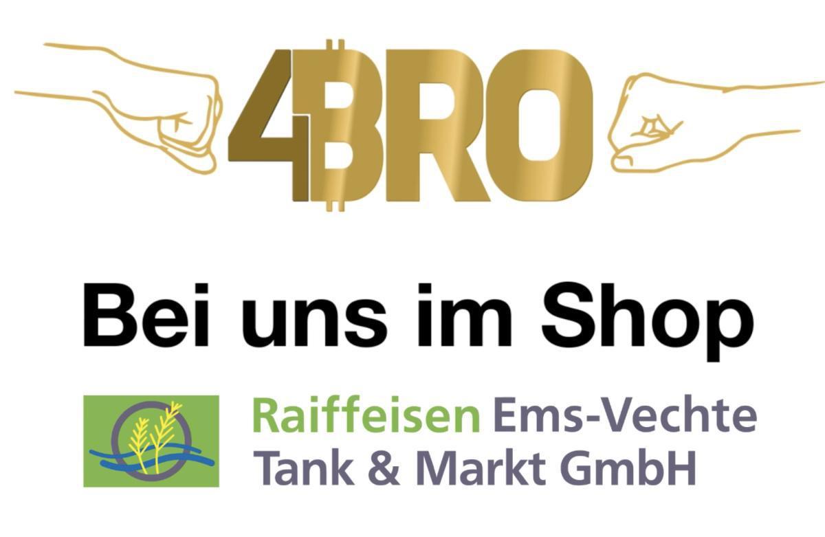 Raiffeisen Tank und Shop informiert alle Bros
