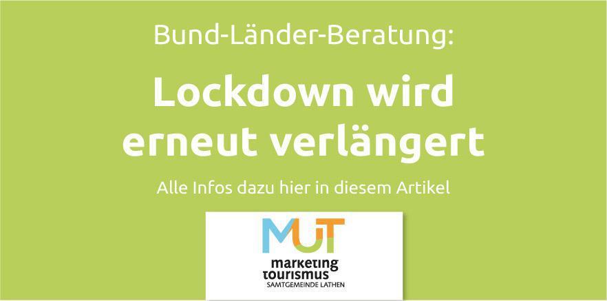 Lockdown Verlängerung bis zum 18. April 2021