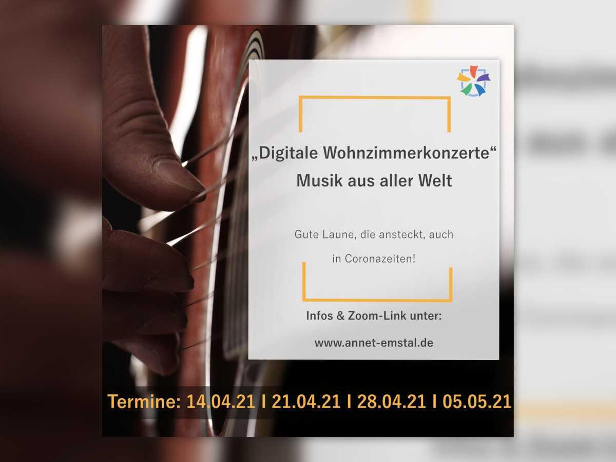 Digitales Wohnzimmerkonzert - ANNET EMSTAL